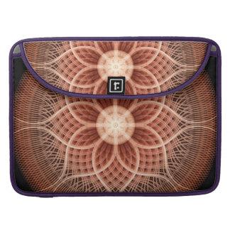 Trance Lotus Mandala MacBook Pro Sleeve