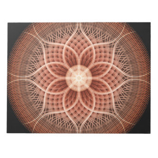 Trance Lotus Mandala Notepads