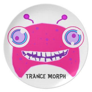 Trance Morph Monster Kids Plate