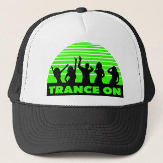 Trance on Dancers design Trucker Hat