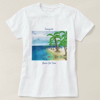 Tranqilo – Cute Tropical & Colorful Beach T-shirt