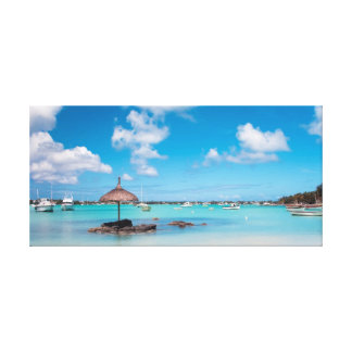 Tranquil Blue Gallery Wrapped Canvas