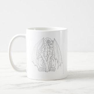 Tranquil Dragon Mug (No Text)