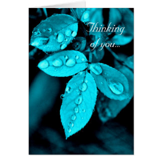 Tranquil Droplets 'Mytstic' Greeting/Note Card