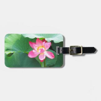 Tranquil Lotus Luggage Tag