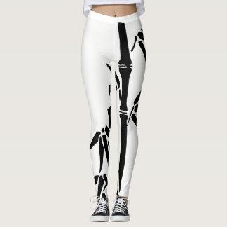 Tranquil Moments (TM) Bamboo Leggings Black&White