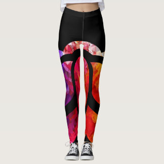 Tranquil Moments (TM) Leggings  - Rainbow Lotus