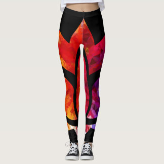 Tranquil Moments (TM) Rainbow Lotus Leggings
