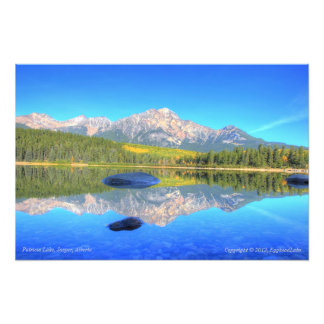 Tranquil Scene at Patricia Lake Photo Art