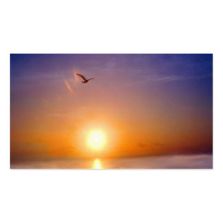 Tranquil Seascape Two Sided Appointment Card Pack Of Standard Business Cards