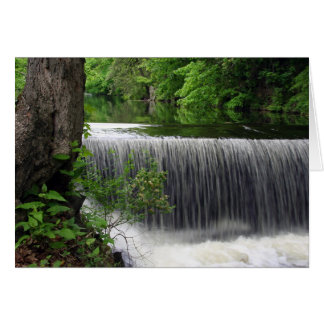 Tranquil Waterfall Card