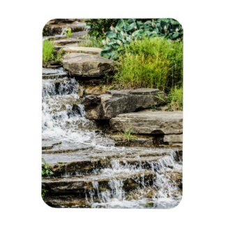Tranquil Waterfall Magnet