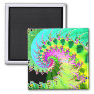 tranquility: detail square magnet