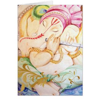 Tranquility Ganesh Diwali Card