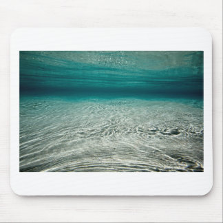 Tranquility turquoise tropical beach underwater mouse pad