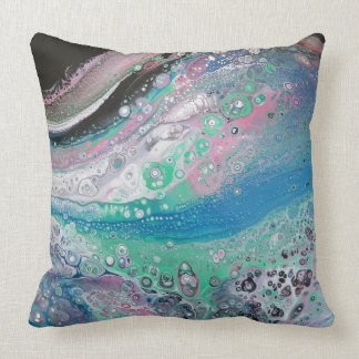 """""""Tranquillity"""" Abstract Pillow"""