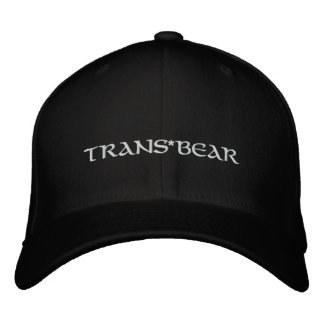 Trans*BEAR Embroidered Cap