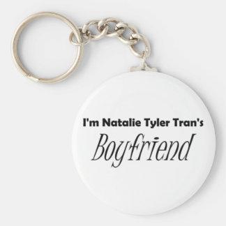 Tran's Boyfriend Basic Round Button Key Ring