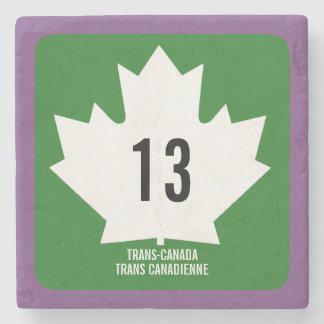 Trans-Canada Stone Coaster