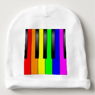 Trans Gay Piano Keys Baby Beanie