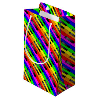 Trans Gay Piano Keys Small Gift Bag