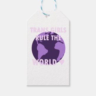 Trans Girls Rule The World (v1) Gift Tags