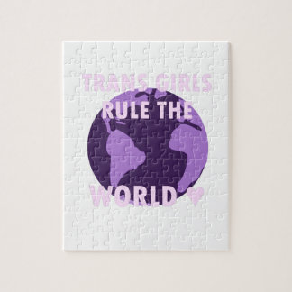 Trans Girls Rule The World (v1) Jigsaw Puzzle