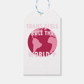 Trans Girls Rule The World (v2) Gift Tags