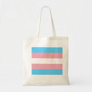 Trans Minimalist Tote Budget Tote Bag