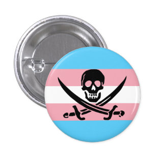 Trans Pirate Button