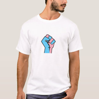Trans Pride Fist Shirt