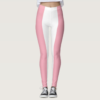 Trans pride leggings
