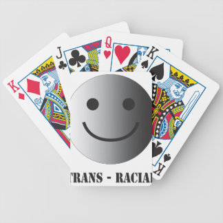 Trans-racial Bicycle Playing Cards