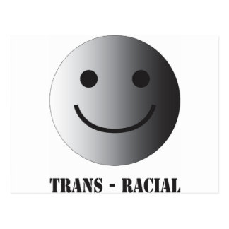 Trans-racial Postcard