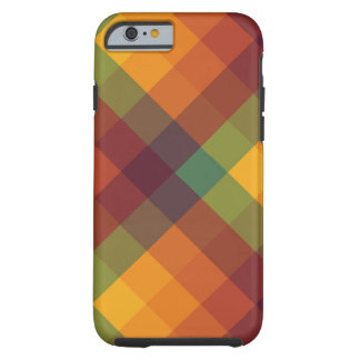 Trans Square Plaid iPhone 6/6S Tough Case