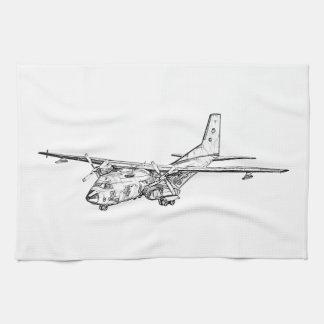 Transall C-160 military transport aircraft Hand Towels