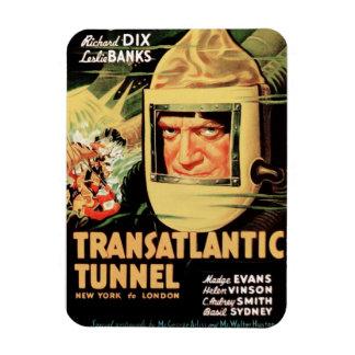 Transatlantic Tunnel Rectangular Photo Magnet