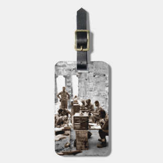 Transcribers in the Ruins Luggage Tag
