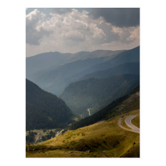 transfagarasan, Romania Postcard