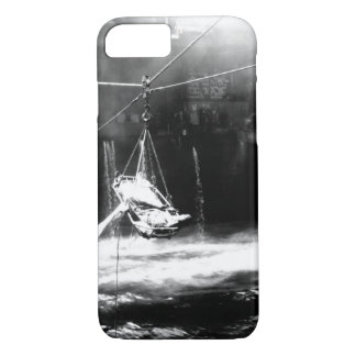 Transfer of wounded from USS BUNKER_War Image iPhone 7 Case