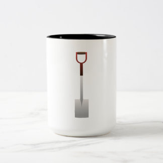 Transfer Shovel Coffee Mugs