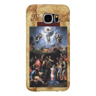 TRANSFIGURATION OF JESUS monogram Samsung Galaxy S6 Cases