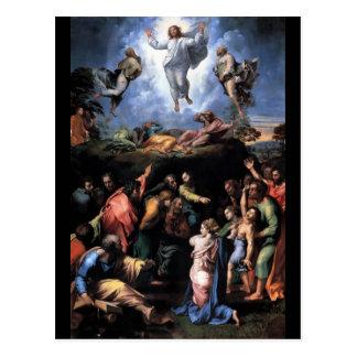 TRANSFIGURATION OF JESUS POST CARD
