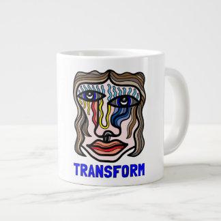 """Transform"" Jumbo Mug"