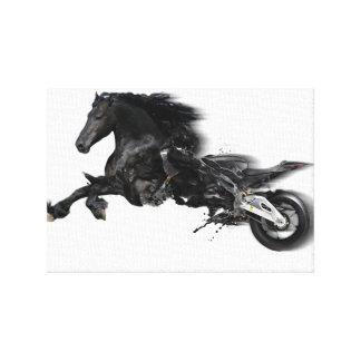 Transformation Photo Art Canvas Print