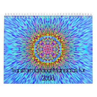 Transformational Mandalas for 2008 Calendar