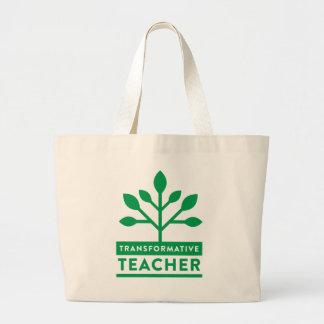 Transformative Teacher Jumbo Tote