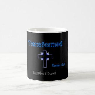 Transformed gotGod316.com Romans 12:2 Magic Mug