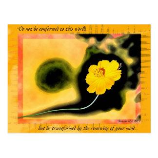 Transformed postcard