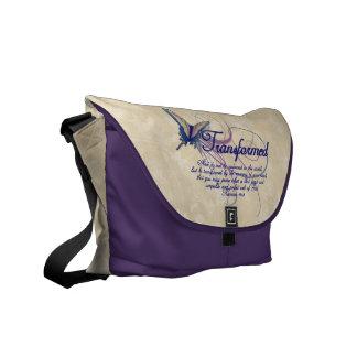 Transformed, Pretty Butterfly Christian Womens Bag Commuter Bag